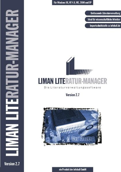Liman Literatur-Manager 2.7. als Buch