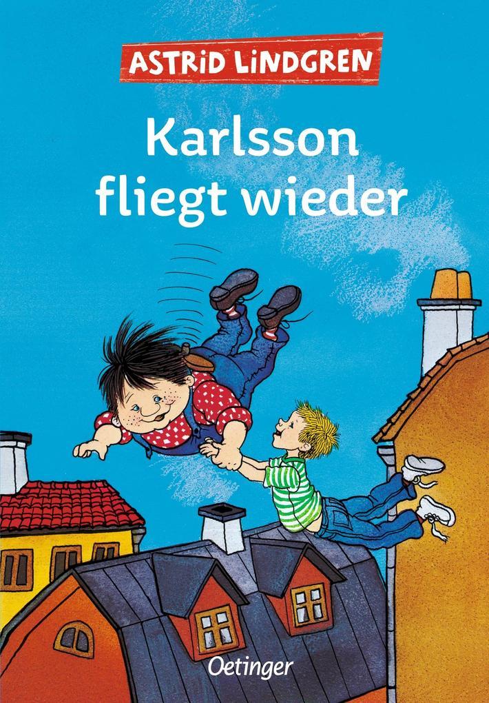 Karlsson fliegt wieder als Buch