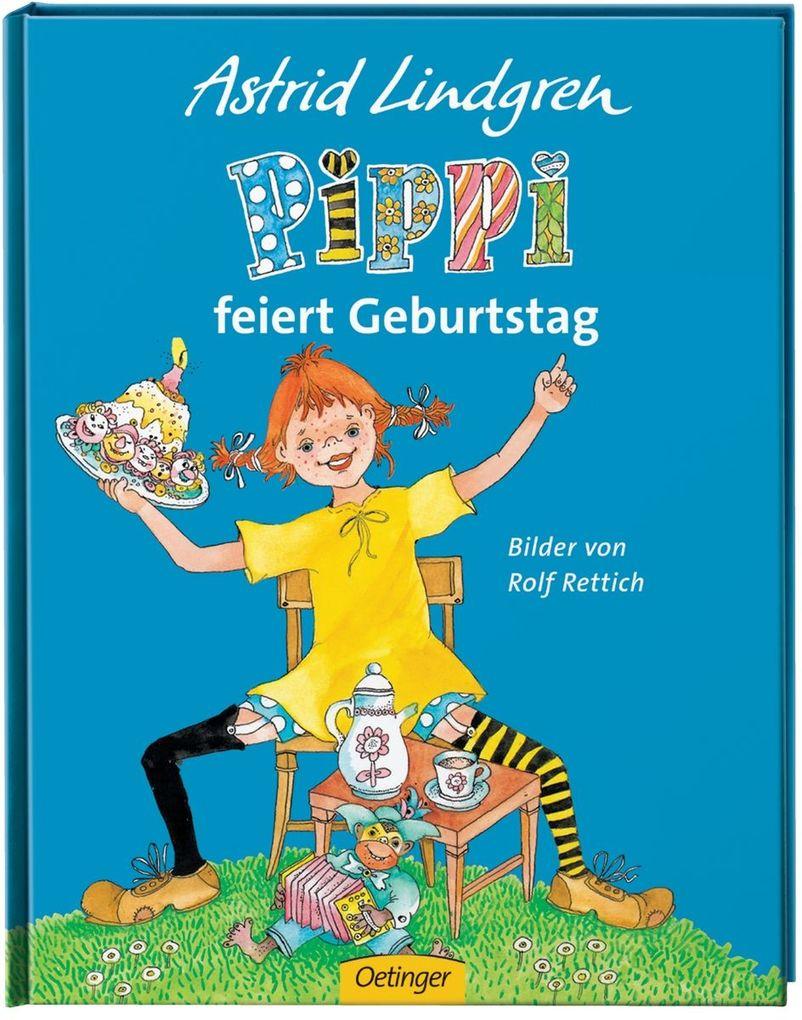 Pippi feiert Geburtstag als Buch