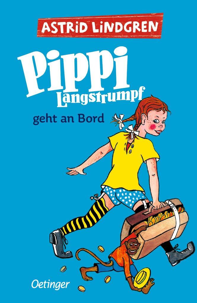Pippi Langstrumpf geht an Bord als Buch