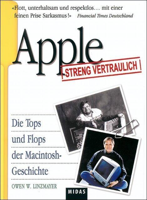 Apple streng vertraulich als Buch