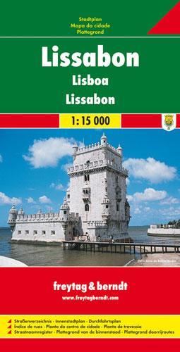 Lissabon 1 : 15 000 als Buch