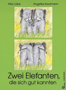 Zwei Elefanten, die sich gut kannten als Buch