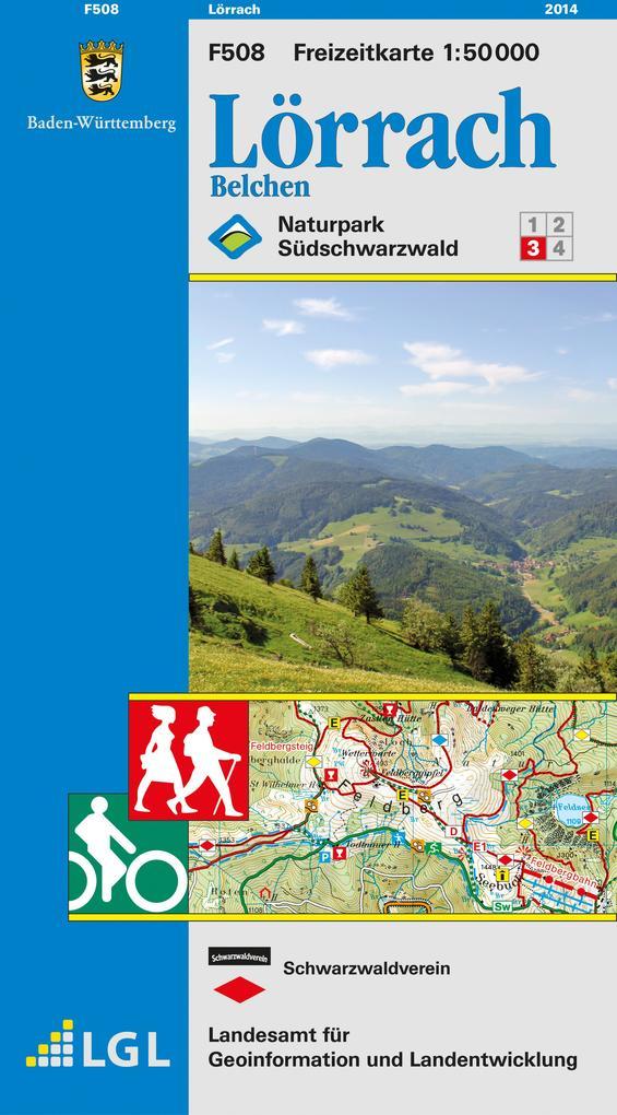 LGL BW 50 000 Freizeit Lörrach als Buch
