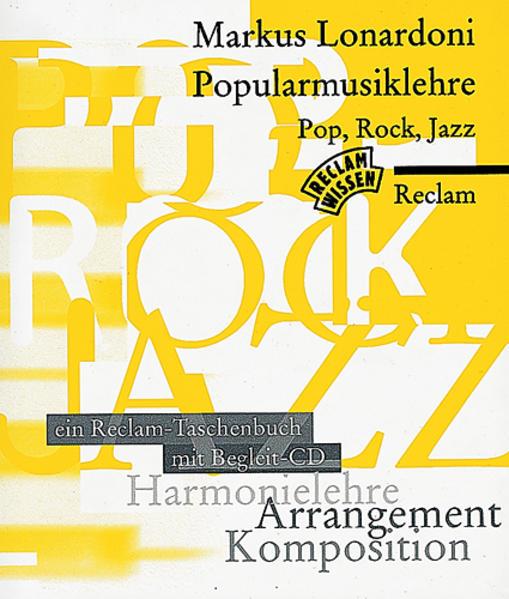 Popularmusiklehre Pop, Rock, Jazz. Mit CD als Taschenbuch