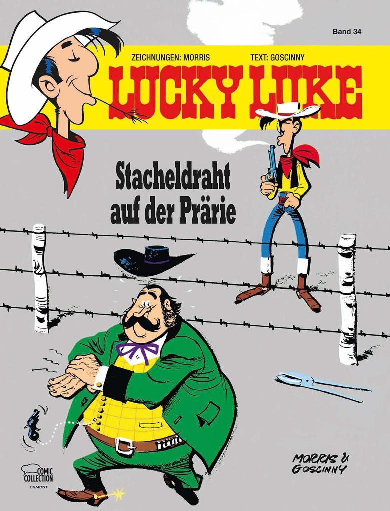 Lucky Luke 34 - Stacheldraht auf der Prärie als Buch
