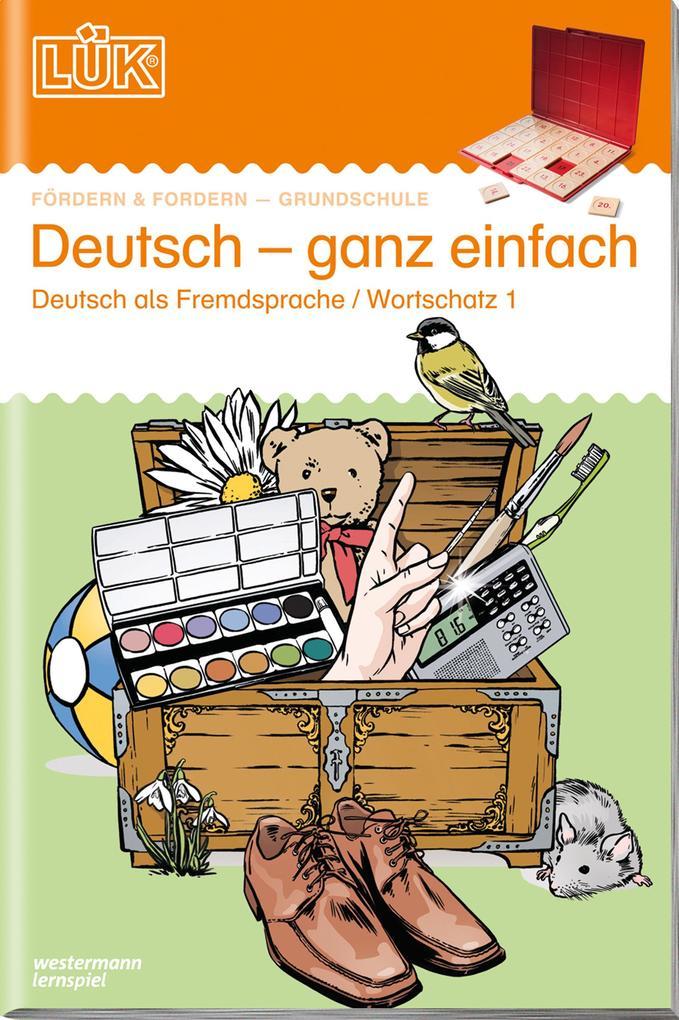 LÜK Deutsch ganz einfach 1 als Buch