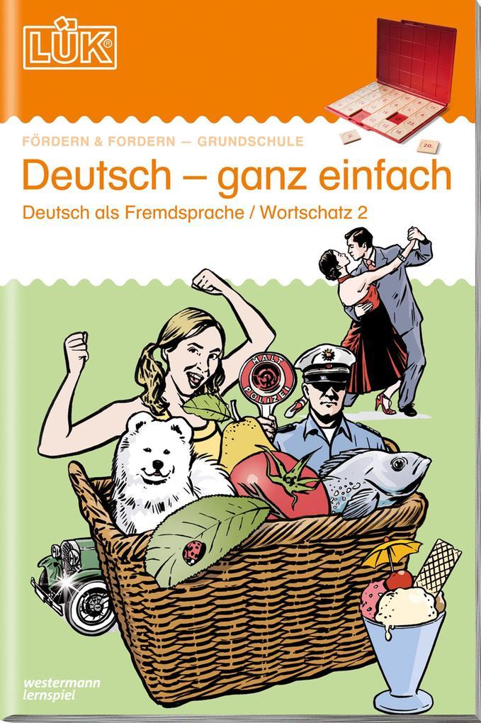 LÜK Deutsch ganz einfach 2 als Buch
