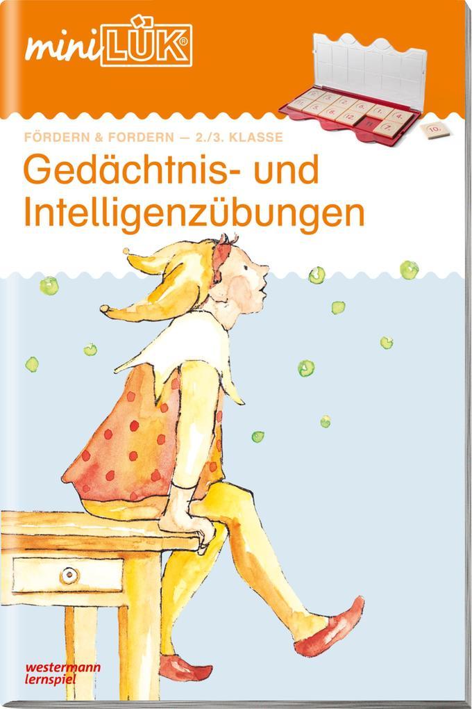 miniLÜK. Gedächtnis- und Intelligenzübungen 1 als Buch