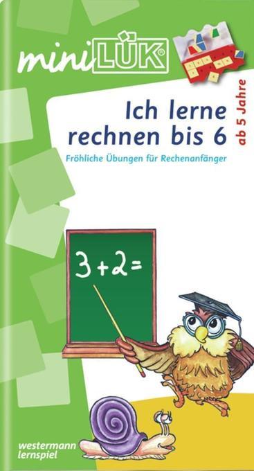 miniLÜK. Ich lerne rechnen 1. Übungsheft als Buch