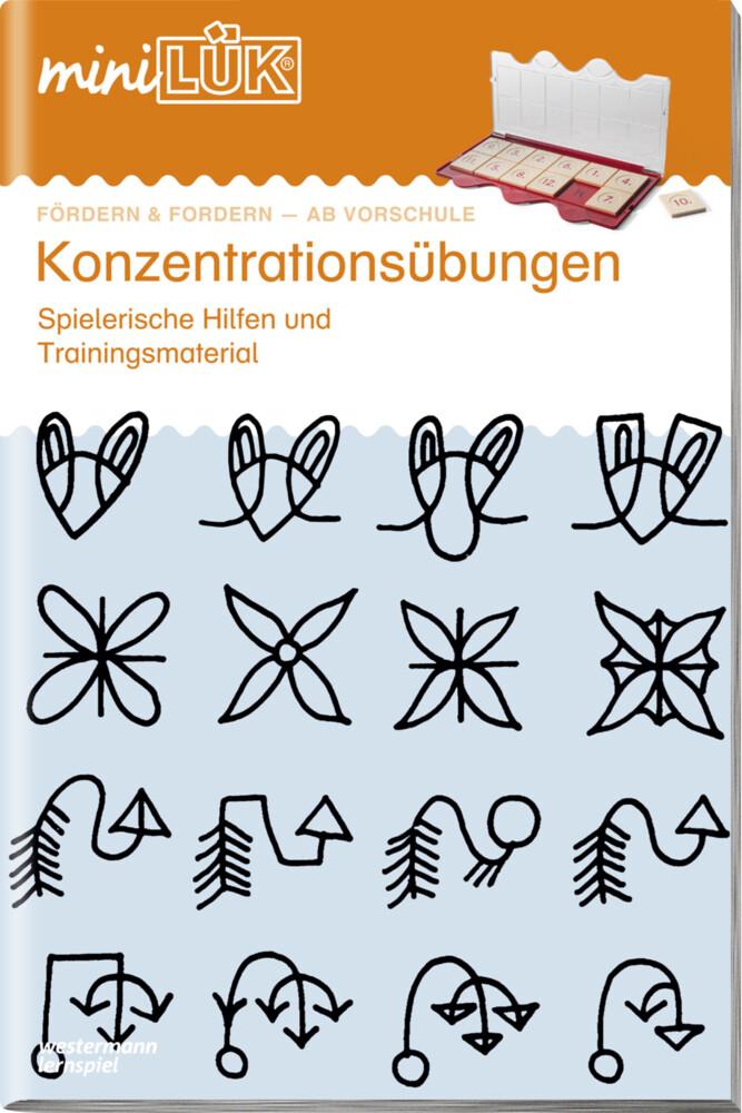 miniLÜK. Konzentrationsübungen 1 als Buch