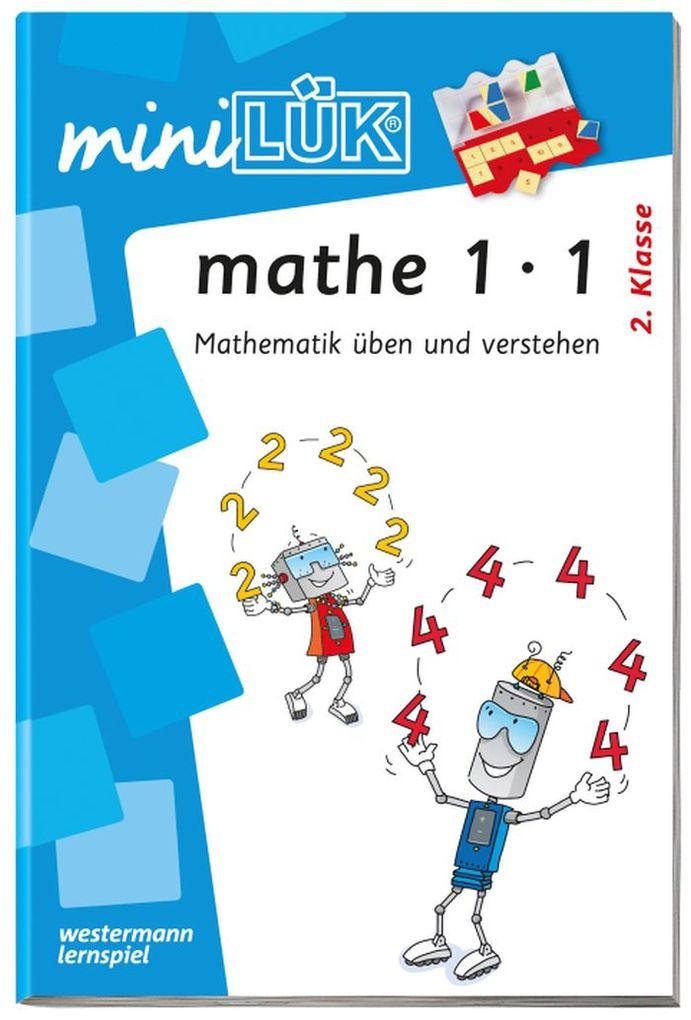 miniLÜK - mathe,Das kleine Einmaleins als Buch
