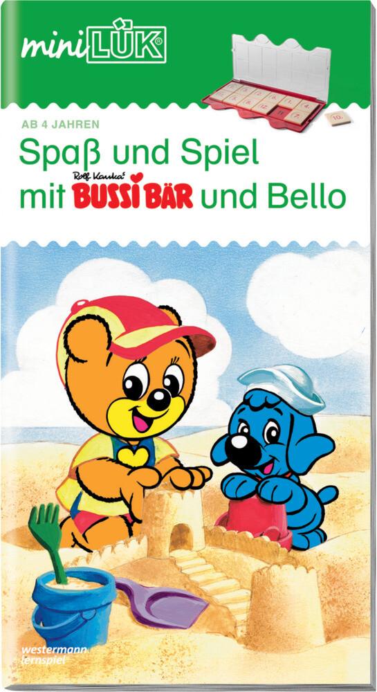 miniLÜK. Spaß und Spiel mit Bussi und Bello I als Buch