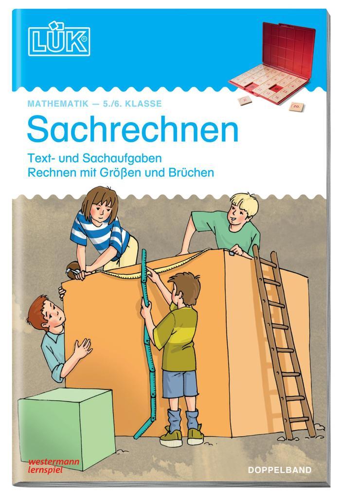 LÜK - Sachrechnen 5/6 Doppelband als Buch