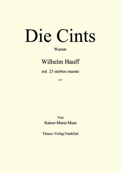 Die Cints als Buch