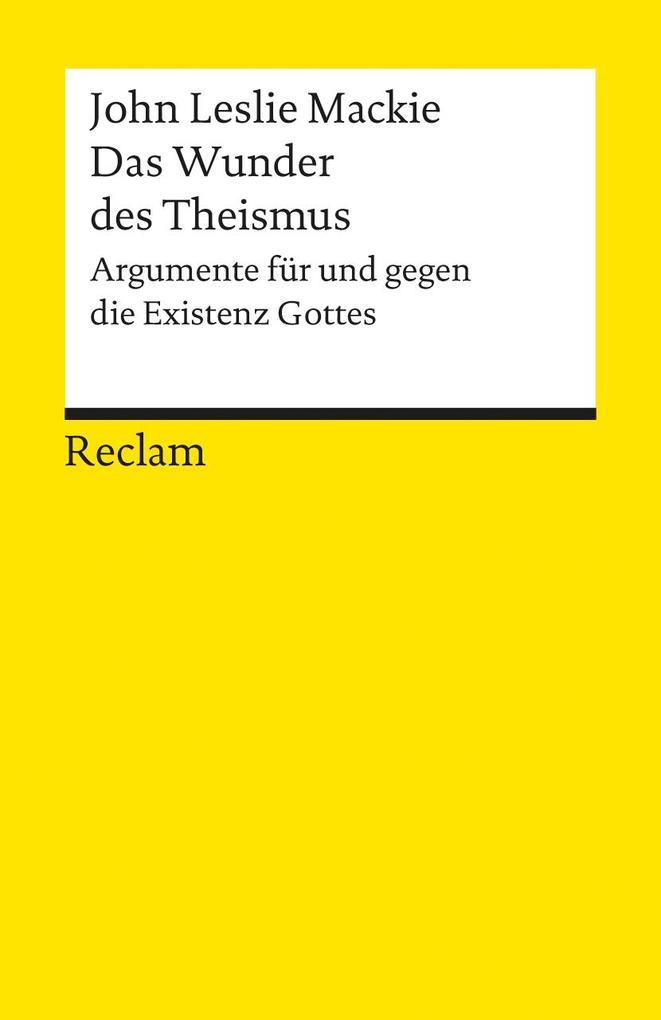 Das Wunder des Theismus als Taschenbuch