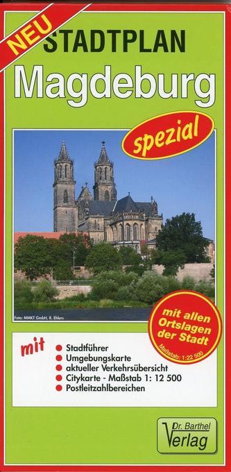 Stadtplan Magdeburg spezial 1 : 22 500 als Buch