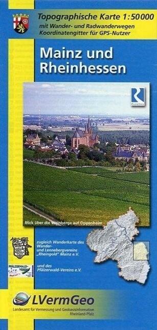Mainz und Rheinhessen 1 : 50 000 als Buch
