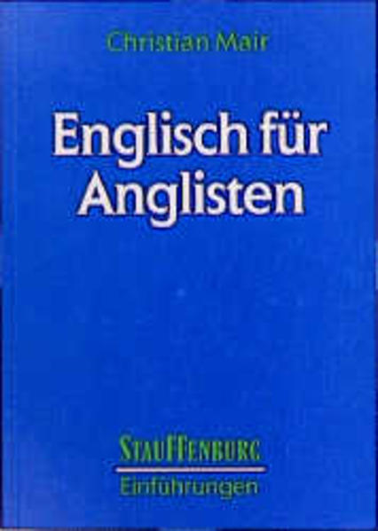 Englisch für Anglisten als Buch
