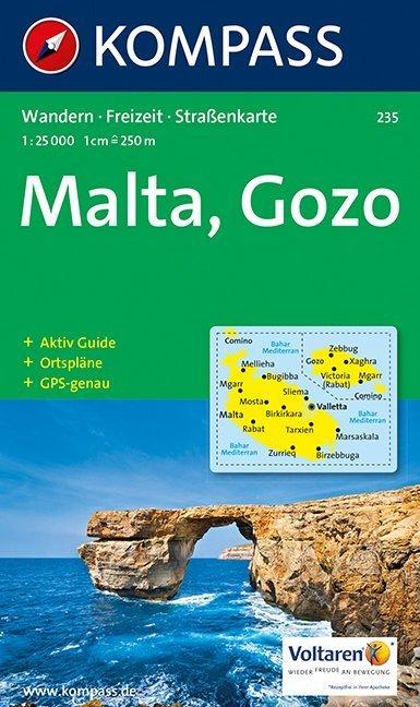 Malta, Gozo 1 : 25 000 als Buch