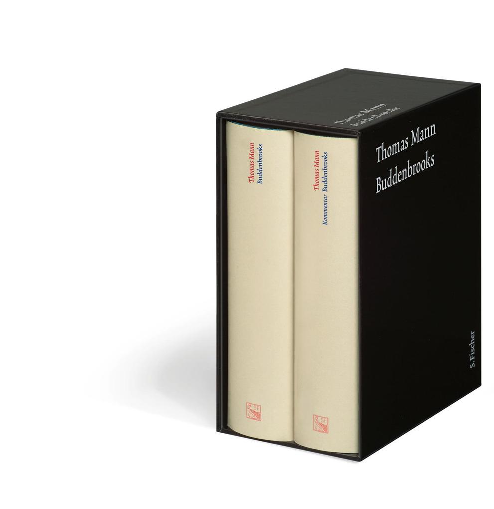 Buddenbrooks. Große kommentierte Frankfurter Ausgabe als Buch