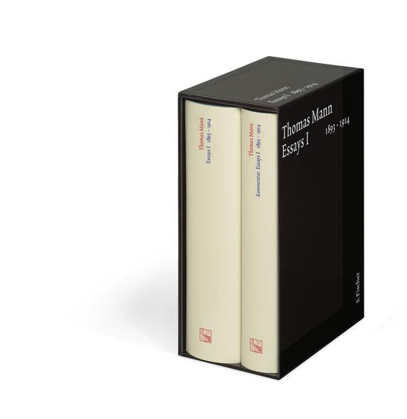 Essays 1. 1893-1914. Große kommentierte Frankfurter Ausgabe als Buch
