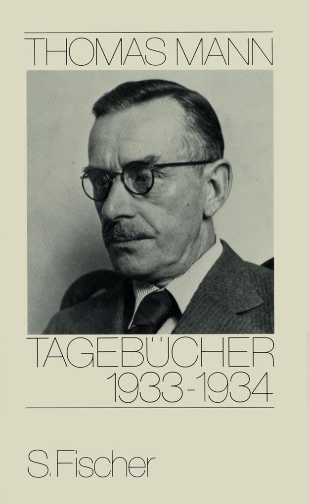 Tagebücher 1933 - 1934 als Buch