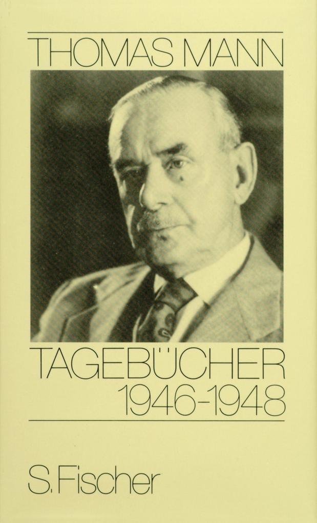 Tagebücher 1946 - 1948 als Buch