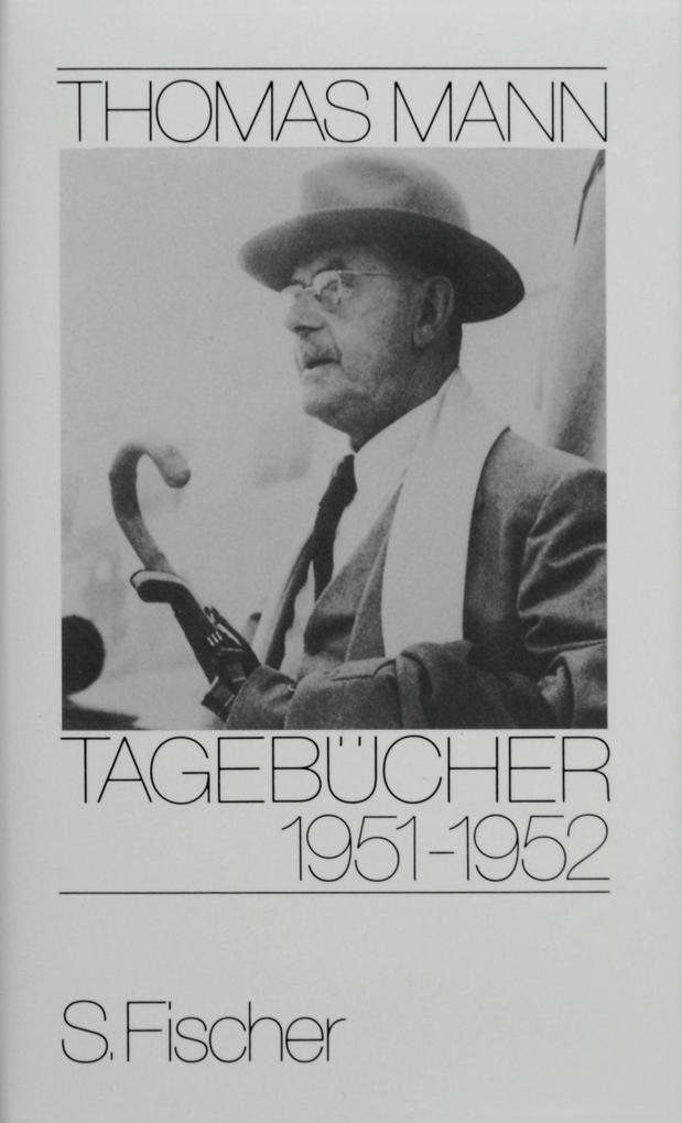 Tagebücher 1951 - 1952 als Buch