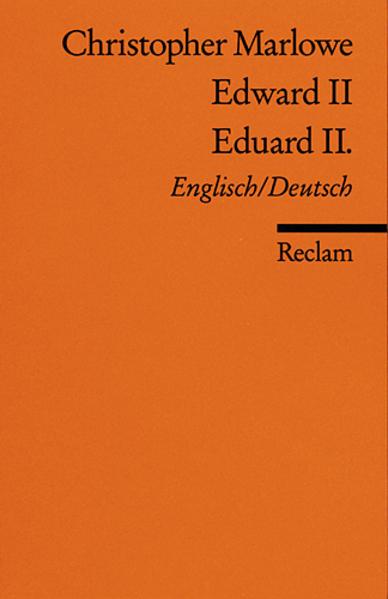 Eduard II. / Edward II als Taschenbuch