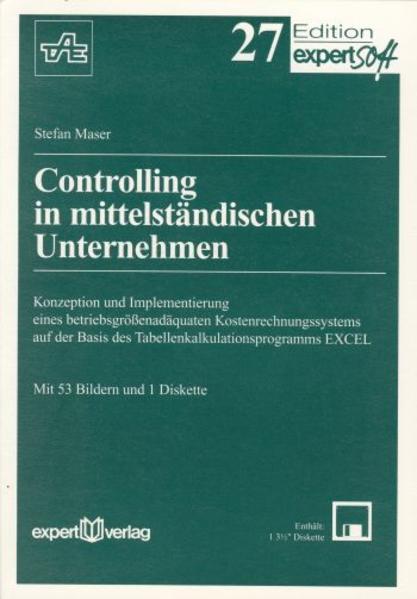Controlling in mittelständischen Unternehmen als Buch