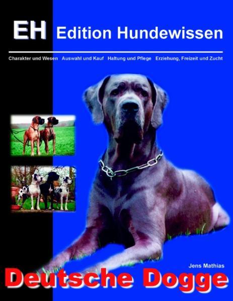 Deutsche Dogge als Buch