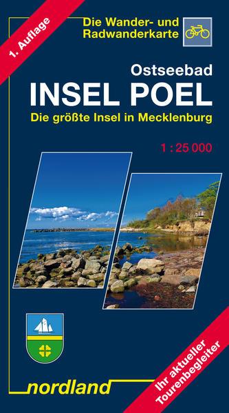 Mecklenburg. Die großen Seen 1 : 75 000. Wander- und Freizeitkarte als Buch