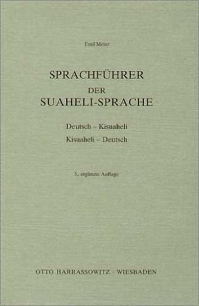 Sprachführer der Suaheli - Sprache als Buch