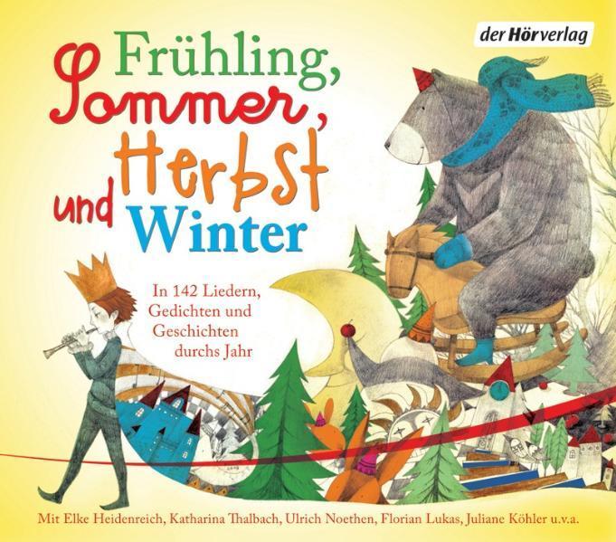 Frühling Sommer Herbst und Winter
