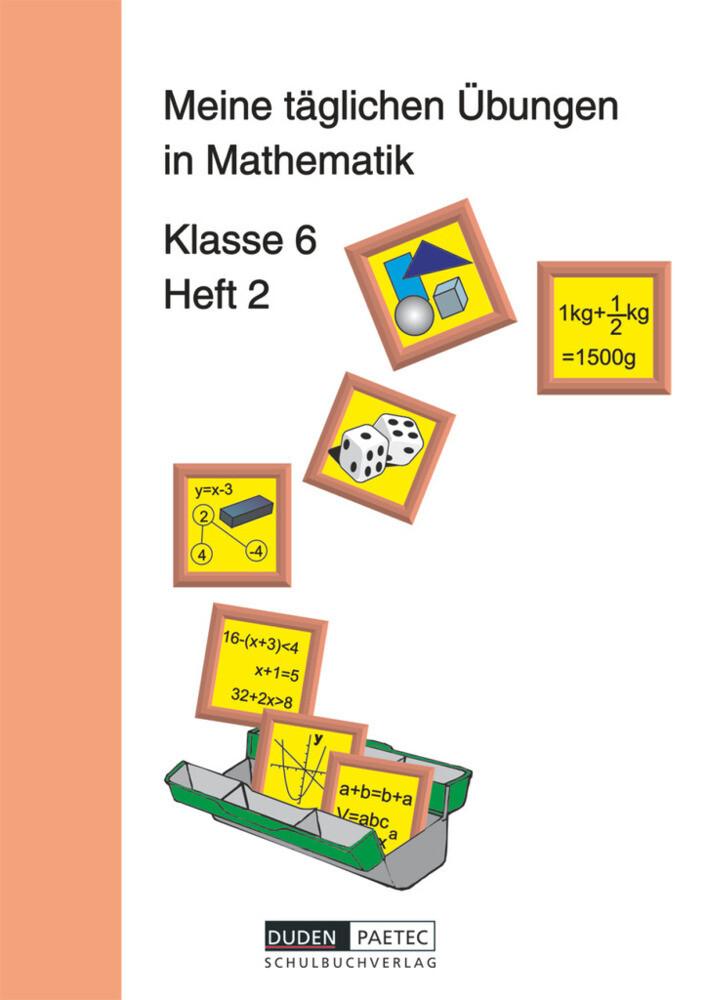 Meine täglichen Übungen in Mathematik Klasse 6 Heft 2. RSR als Buch