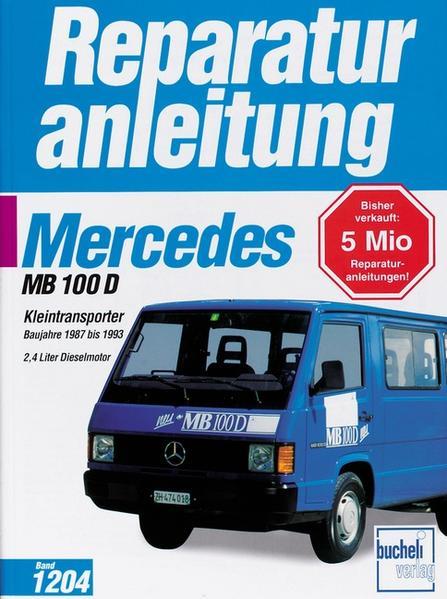 Mercedes MB 100 Kleintransporter als Buch
