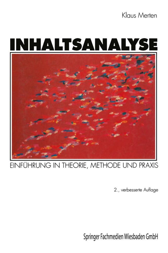 Inhaltsanalyse als Buch