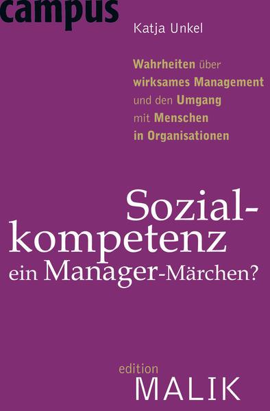 Sozialkompetenz - ein Manager-Märchen? als Buch