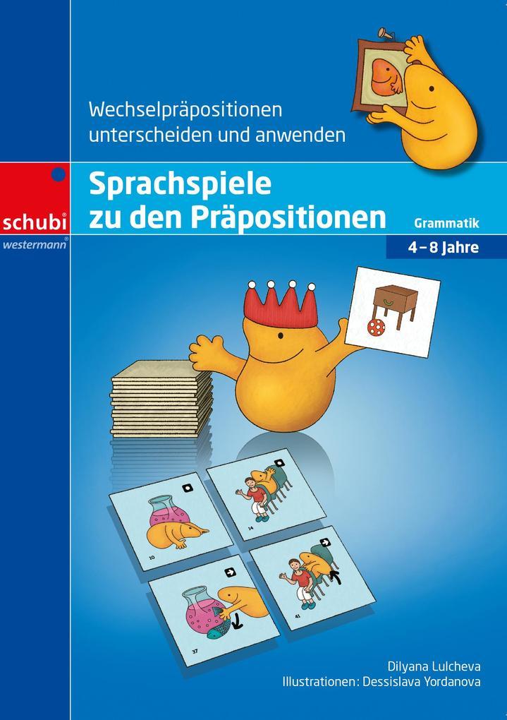 Sprachspiele zu den Präpositionen als Buch