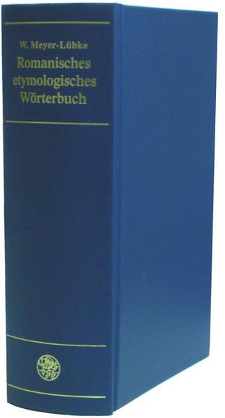 Romanisches etymologisches Wörterbuch als Buch