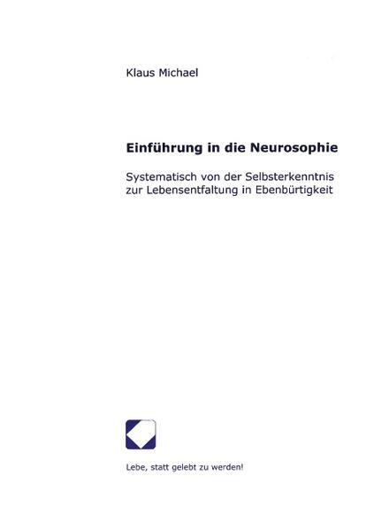 Einführung in die Neurosophie als Buch
