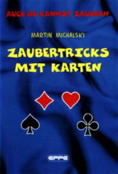 Zaubertricks mit Karten als Buch