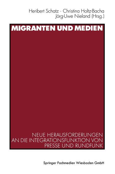 Migranten und Medien als Buch