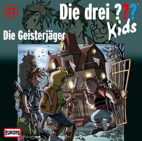 die drei ??? kids 21. die geisterjäger drei fragezeichen cd hörbuch - portofrei bei ebook.de