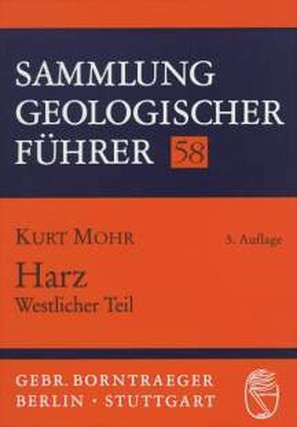 Harz, Westlicher Teil als Buch