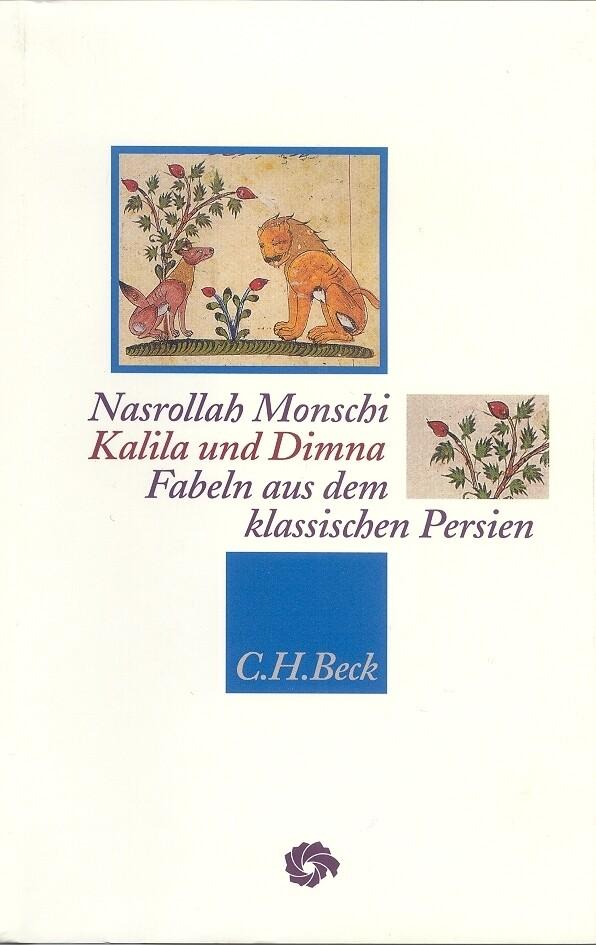 Kalila und Dima als Buch von Nasrollah Monschi