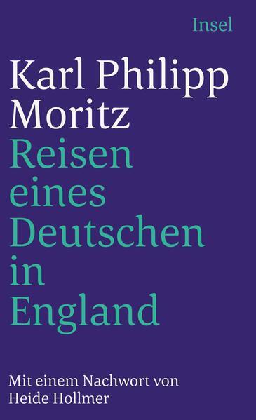 Reisen eines Deutschen in England im Jahr 1782 als Taschenbuch