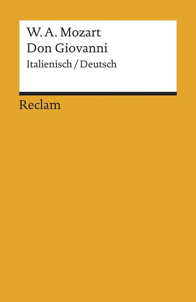 Don Giovanni als Taschenbuch
