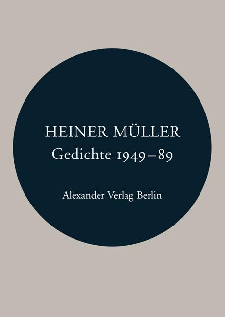 Gedichte 1949-1989 als Buch